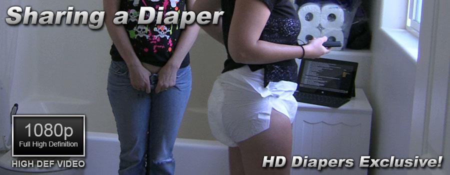 Sharing a Diaper