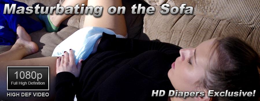 Masturbating on the Sofa