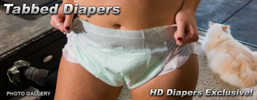 Photos- Tabbed Diaper