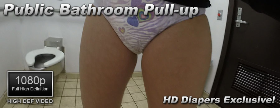 Public Bathroom Pull-up