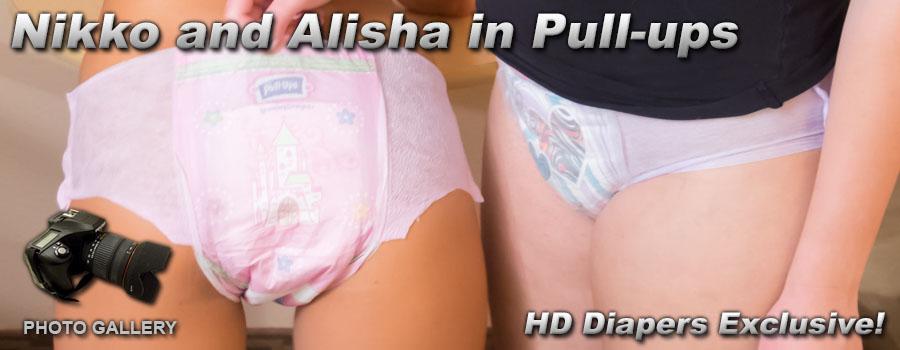 Photos- Nikko and Alisha in Pull-ups