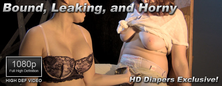 Bound, Leaking, and Horny