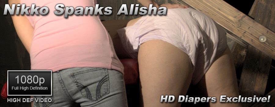 Nikko Spanks Alisha