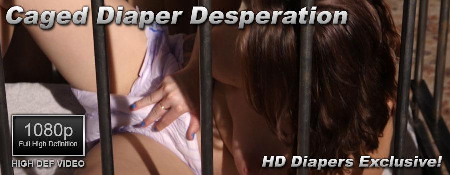 Caged Diaper Desperation