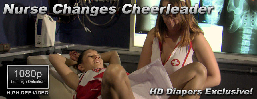 Nurse Changes Cheerleader