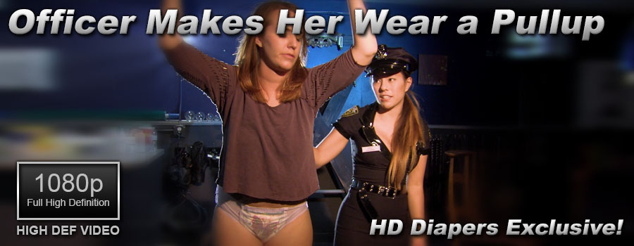 Officer Makes Her Wear a Pullup