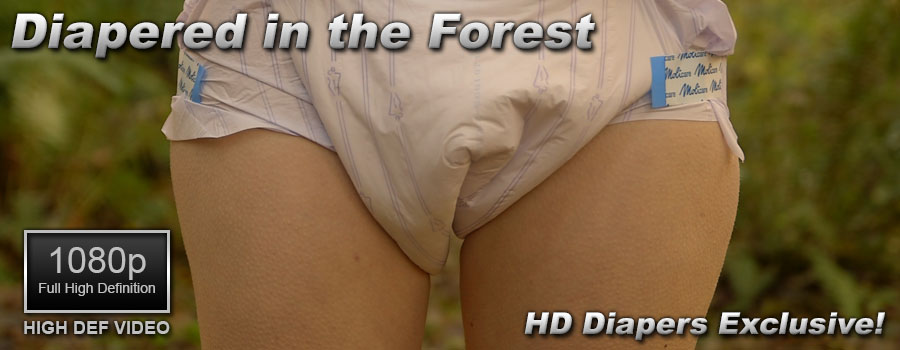 Diapered in the Forest
