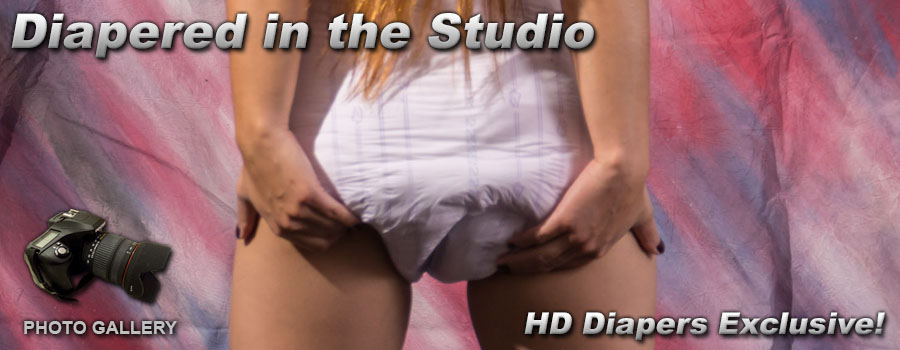 Photos- Diapers in the Studio
