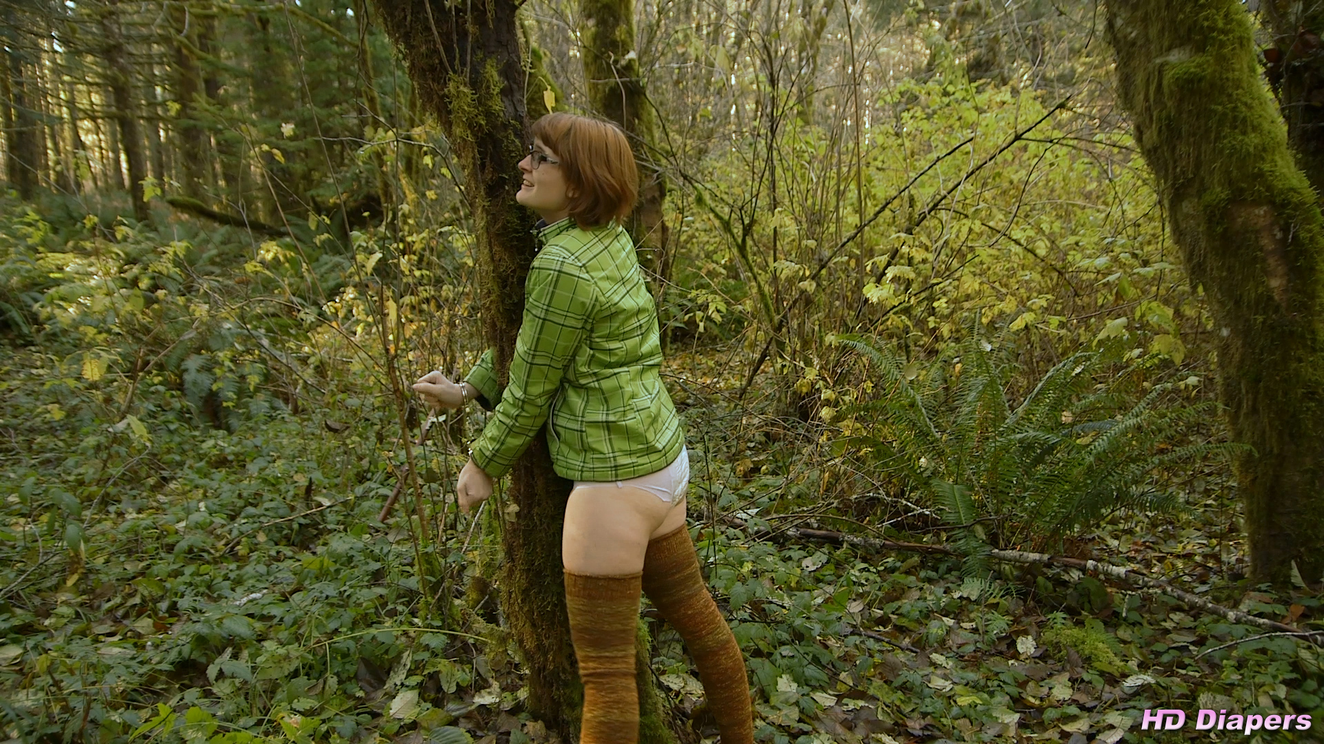 Desperate Forest Bondage – HD Diapers