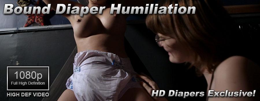 Bound Diaper Humiliation