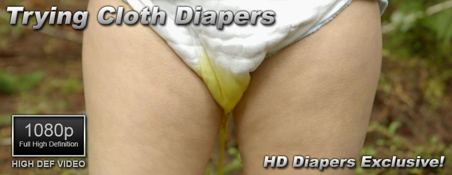 Trying Cloth Diapers