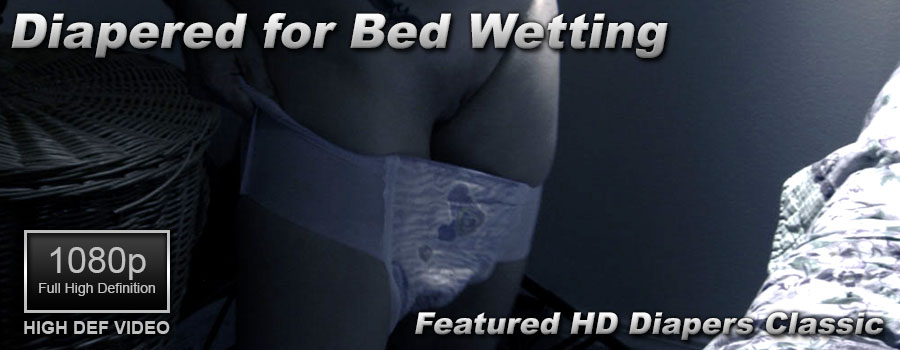 Diapered for Bedwetting