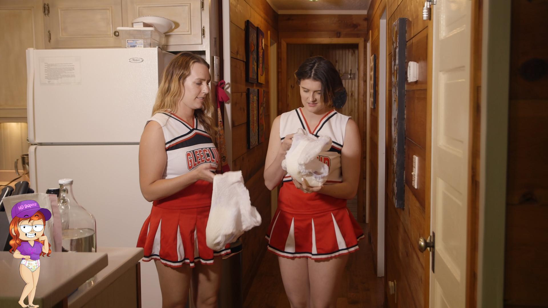 HD Diapers - Sexy women who love having fun in diapers